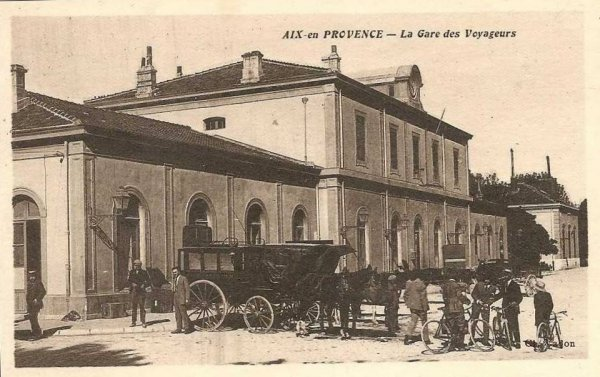 L 39 ancienne ligne aix salon de provence for Gare routiere salon de provence