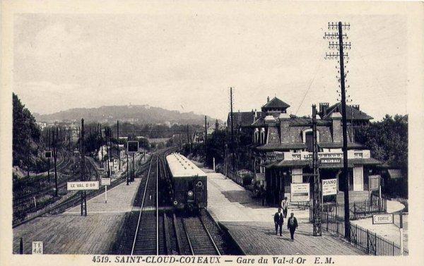 La ligne val d 39 or rueil docks hauts de seine - Porte de saint cloud restaurant ...